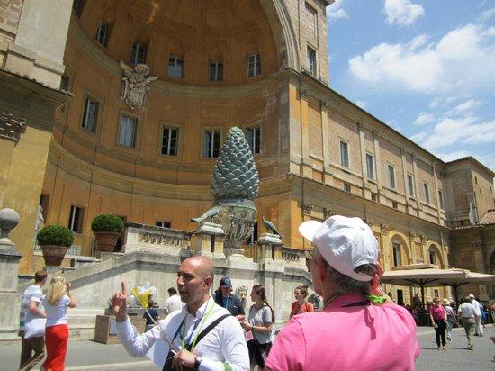 Vox Mundi: Marco,Visite des Musées du Vatican 24/6/14