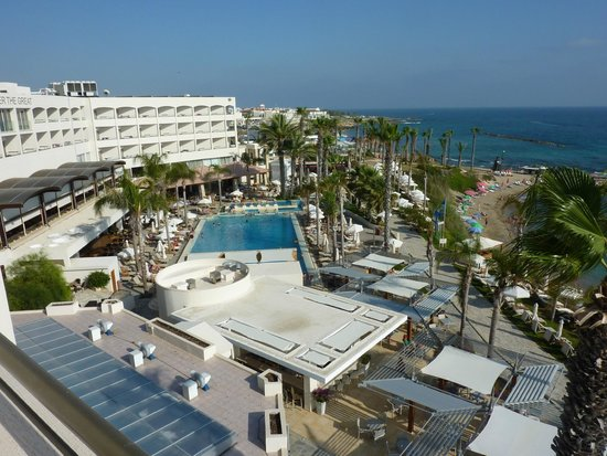 Alexander The Great Beach Hotel: Our room view!