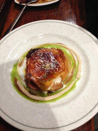 La Cuchara de San Telmo: Goat cheese tarte