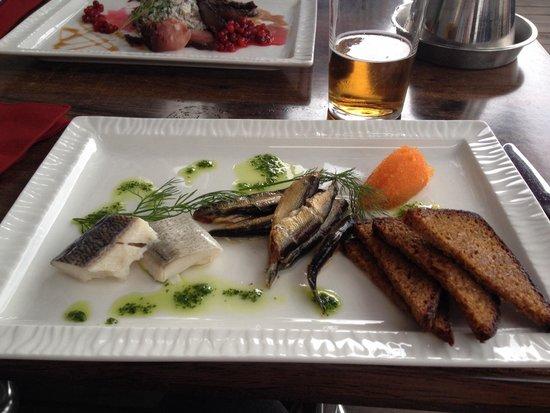 Frans & Cherie Bistro: Antipasto di pesce affumicato