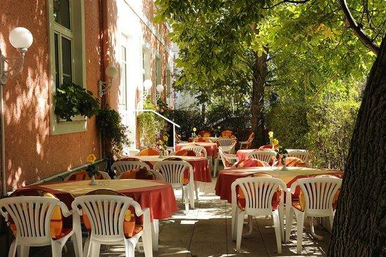 Scherer Hotel: Terrasse Garden