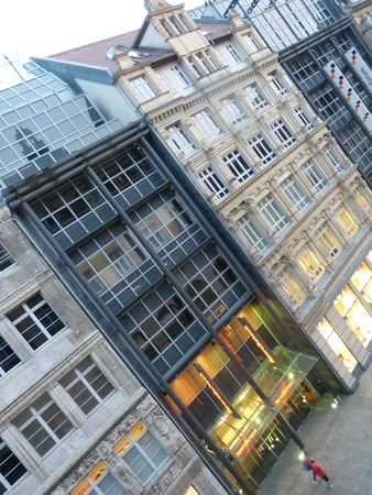 Steigenberger Grandhotel Handelshof: ein weiterer Blick aus unserem Zimmer
