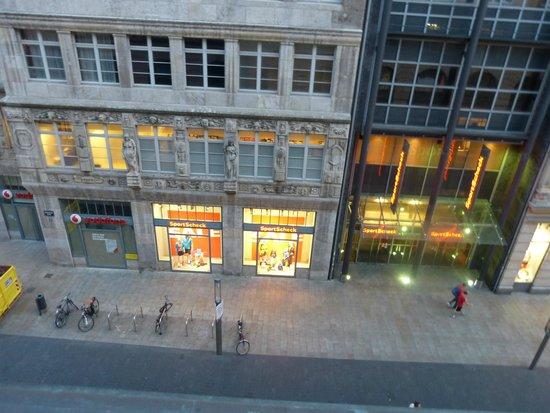 Steigenberger Grandhotel Handelshof: Blick aus unserem Zimmer