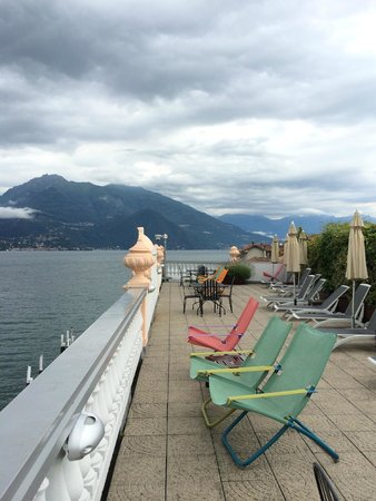 Hotel Metropole Bellagio : View from rooftop deck
