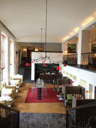 Auberge Saint-Antoine: Lobby lounge