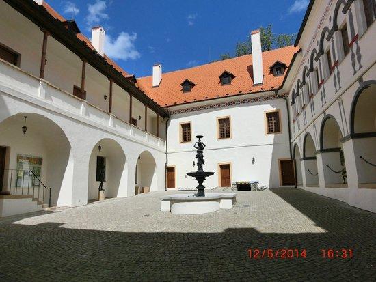 Blansko, Czech Republic: Внутренний дворик