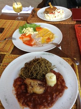 Casa Hacienda San Jose: almuerzo