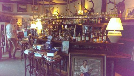 Le Chalet : de zitzaal met bar