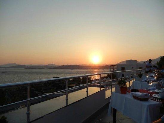 Forever Club : uitzicht bij het a la carte restaurant