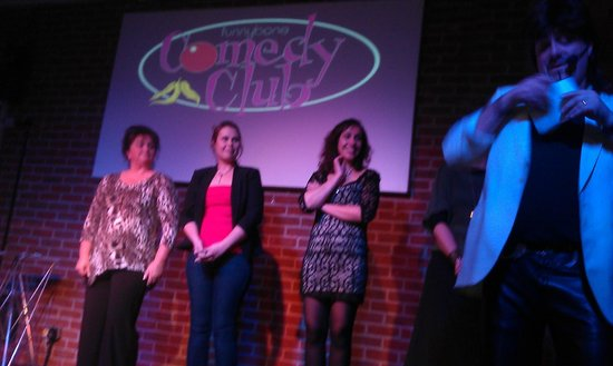 Funnybone Comedy Club : Audience participation