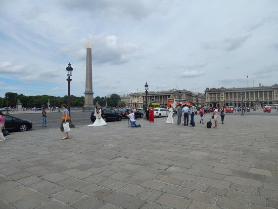 Place de la Concorde: Vista da praça