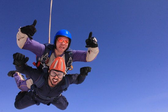 Peterlee Parachute Centre: nav and dave