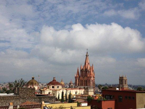 Belmond Casa de Sierra Nevada: View from the top roof