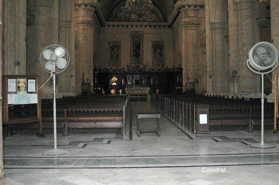 Havana Cathedral: Interior