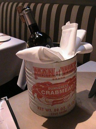 The Pink Door: Pink Door Wine Bucket !! Nice Touch.