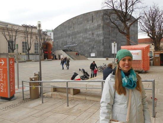 MuseumsQuartier Wien: Museu MUMOK