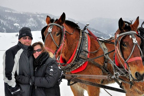 National Elk Refuge : the parents post-ride with Smith & Wesson