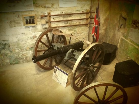 Fort St. Catherine: Light Artillery Collection