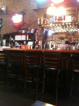 Auntie Skinner's Riverboat Club: Bar Area, Auntie Skinner's, Jefferson, Texas