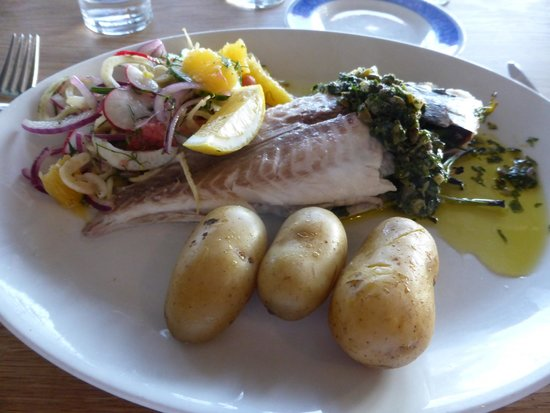 Life's a Beach: Whole baked bream with new potatoes and a grapefruit and blood orange salad