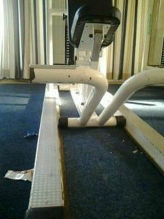 Hotel Sipar : Fitness room