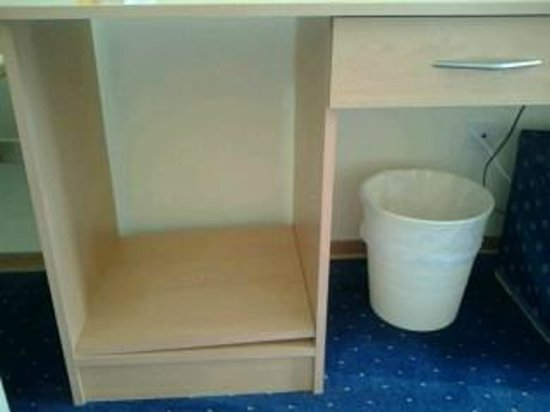 Hotel Sipar : Shelf not bothered to be put on