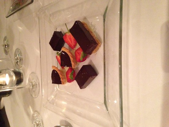 The Manor House Hotel : Dessert from the 8 course tasting menu