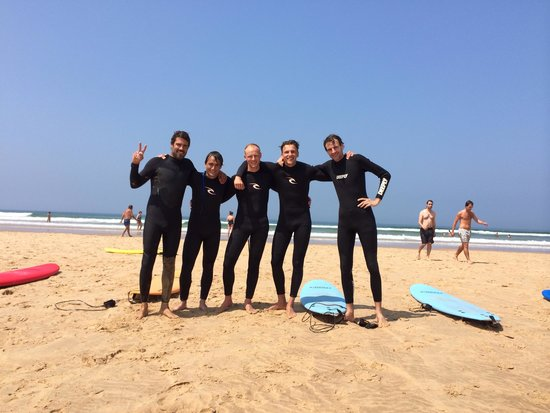 Epic Surf School: Us and Rui