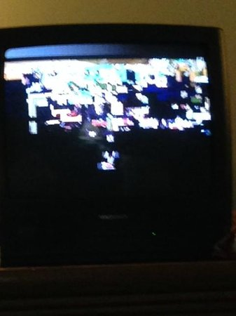 Mt. Olympus Resort : Couldn't watch TV the entire time