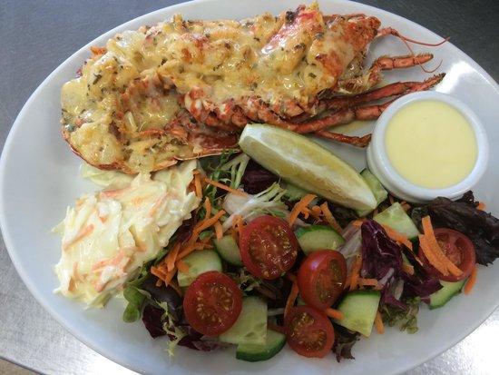 Hele Billy's Bar & Restaurant: Lundy Lobster Thermidor!