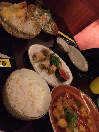 Hwang : Dinner is served