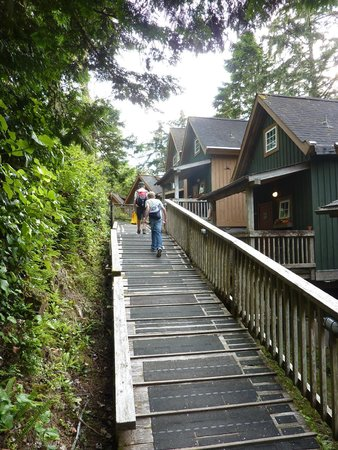 Terrace Beach Resort: cabins