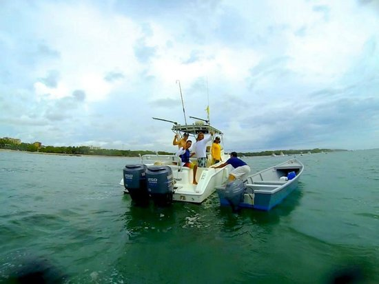 Horizontes del Mar Complex: Our Boats and boat surf-trips  are included for free for surfing guest