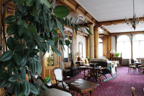 Hotel Eden Garni St. Moritz: Tea Room