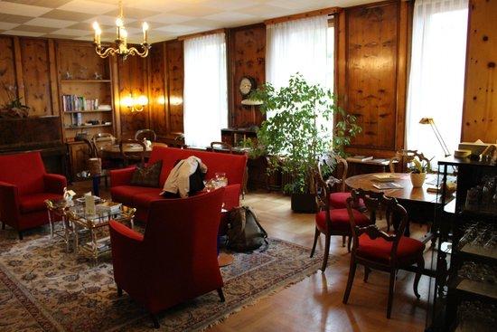 Hotel Eden Garni St. Moritz: Lounge
