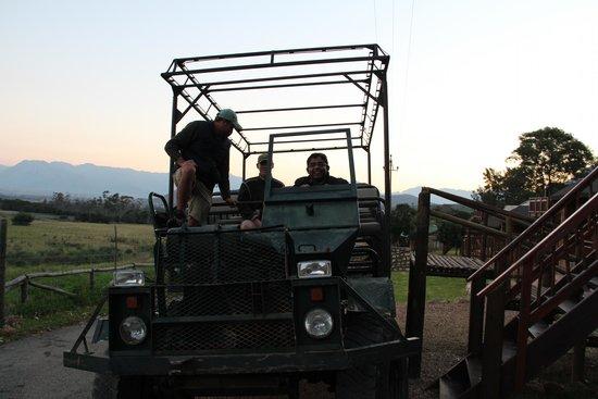 Fairy Glen Private Game Reserve: ride