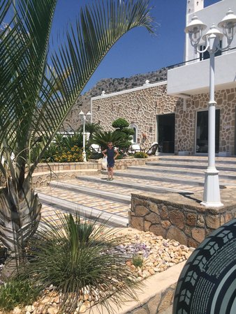 Pefkos Beach Hotel: Reception