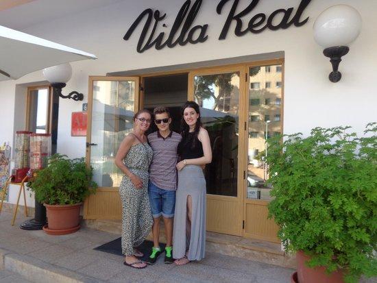 Hotel Villa Real: Villa Real entrance