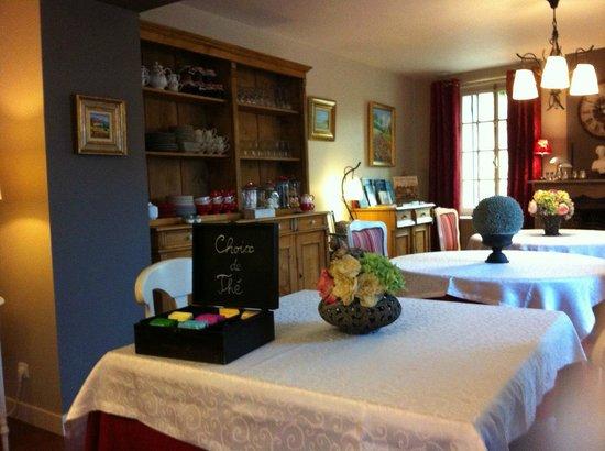Le Domaine de La Frenaie : salle du petit dej'