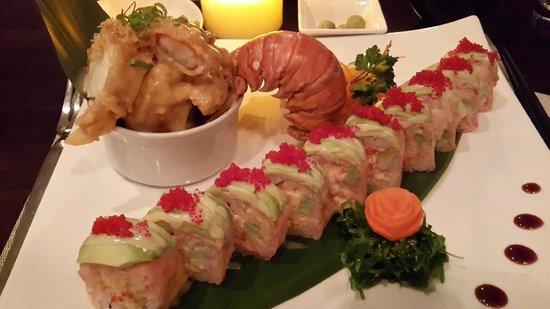 Nishi Restaurant: Lobster maki roll