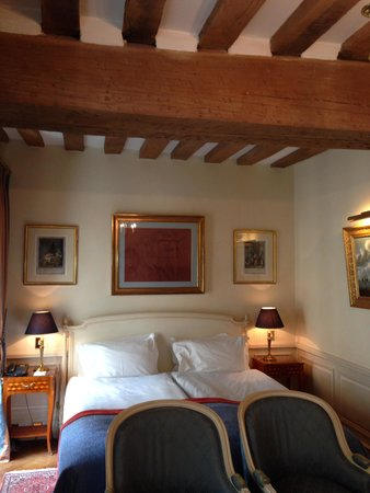 Hotel Luxembourg Parc : Room 24 - loved the old rafters!