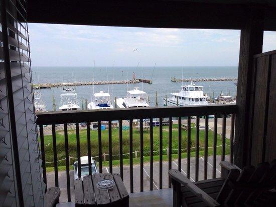 The Breakwater Inn : View from balcony.