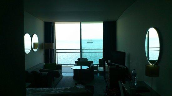 VidaMar Resort Hotel Madeira : Vista desde dentro de la habitación