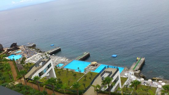 VidaMar Resort Hotel Madeira : Vista desde la habitación en planta 10