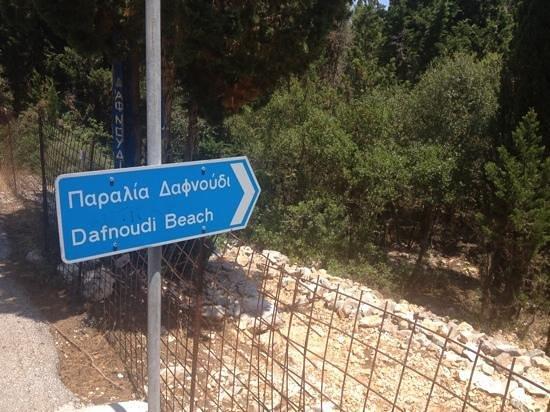 Fiscardo, Grèce: Dafnoudi Beach