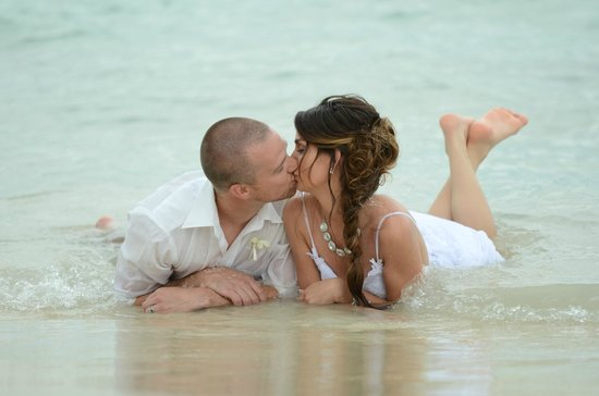 Sandals Whitehouse European Village and Spa : Our wedding day!
