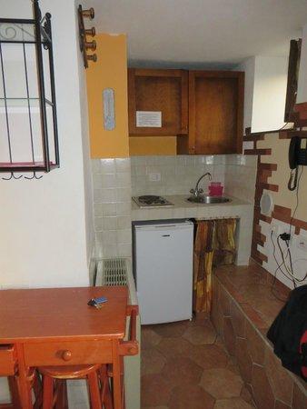 Il Borgo di Campi : Küche Apartment Arnica