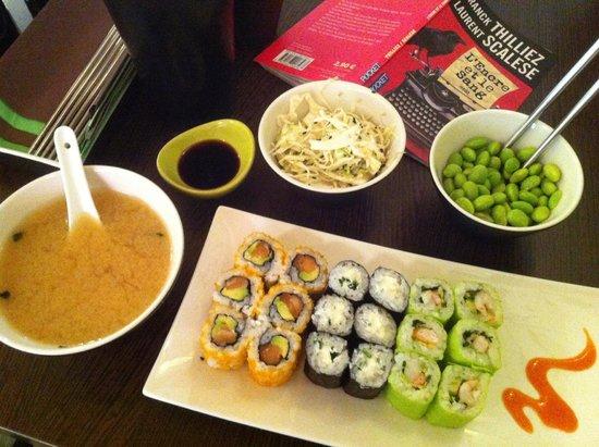 Samouraï Sushis : menu midi