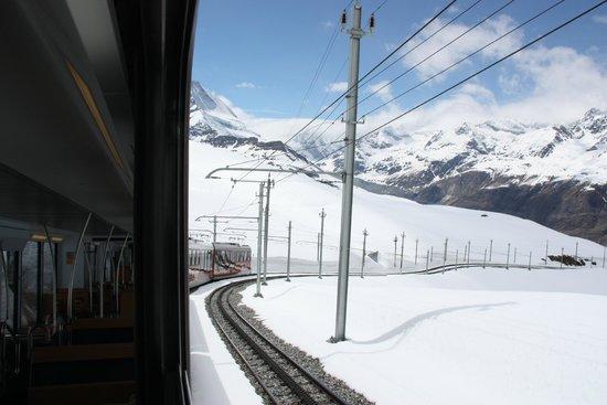 Gornergrat Bahn : mid way