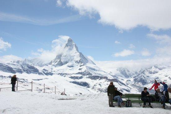 Gornergrat Bahn : Base of Matterhorn